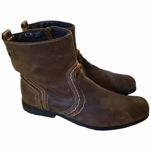 Bed Stu Brown leather men's chukka boots 11